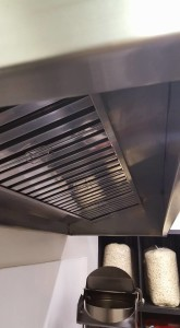 cleaned kitchen canopy